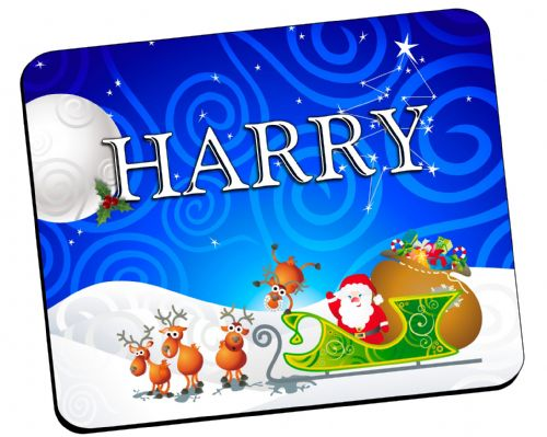 Personalised Christmas Table Placemat N21 - ANY NAME